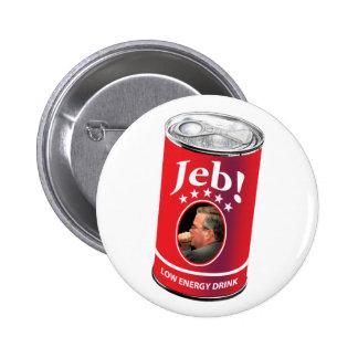 Jeb Bush pour le Président Humor, boisson de basse Badge