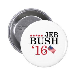 Jeb pour le président badges