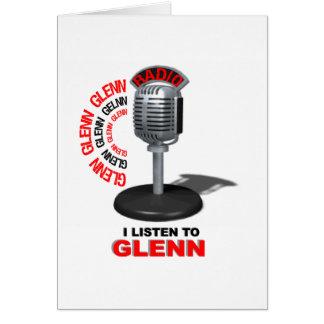 J'écoute Glenn Cartes