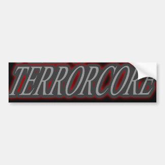 J'écoute TERRORCORE Autocollant De Voiture