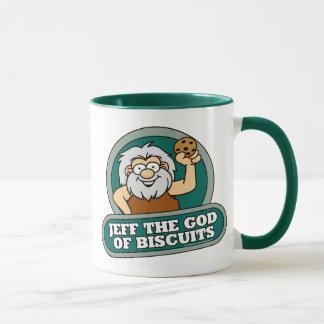 Jeff Dieu de tasse de biscuits