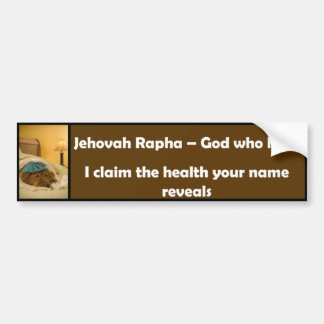 Jéhovah Rapha Autocollant Pour Voiture