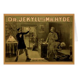 Jekyll et Hyde - carte de note