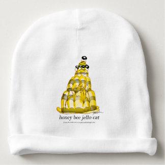 jello élégant d'abeille du miel des fernandes bonnet de bébé