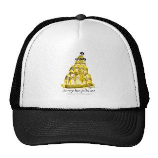 jello élégant d'abeille du miel des fernandes casquettes