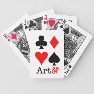 J'embrouille Art& Jeu De Cartes Poker