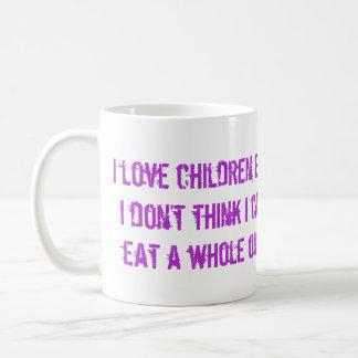 J'enfants d'amour mugs à café