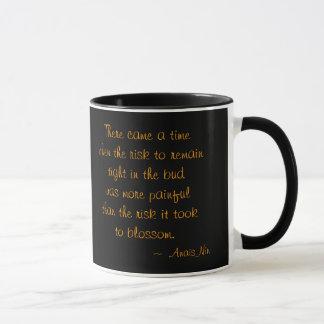 Jennie sur la tasse en céramique de citation noire