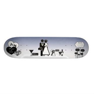 Jennifer et Michael Skateboard Customisable