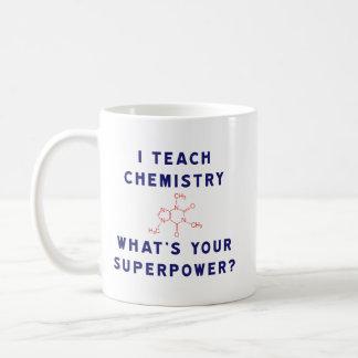 J'enseigne à chimie ce qui est la votre mug