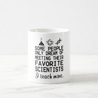 J'enseigne à les miens le professeur de Sciences Mug