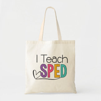 J'enseigne Fourre-tout EXPÉDIÉ Tote Bag