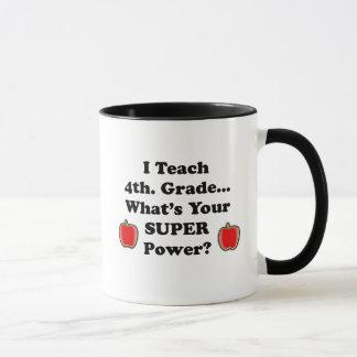 J'enseigne le 4ème. Catégorie Mug