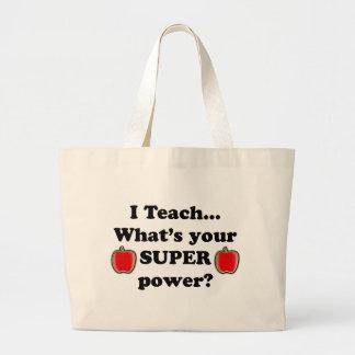 J'enseigne Sac Fourre-tout