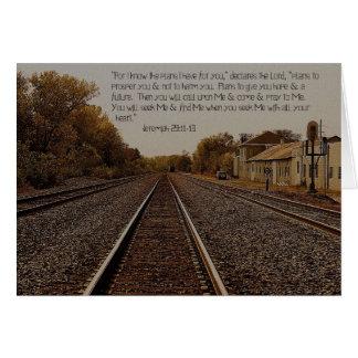 Jérémie 29 : 11. carte 5x7
