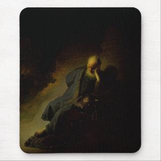 Jérémie déplorant la destruction de Jérusalem Tapis De Souris