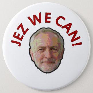 """Jeremy Corbyn """"Jez que nous pouvons"""" Badge"""