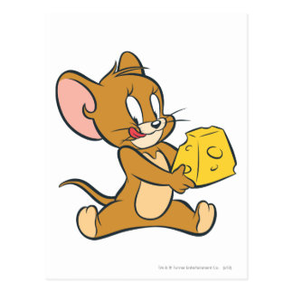 Jerry aime son fromage carte postale