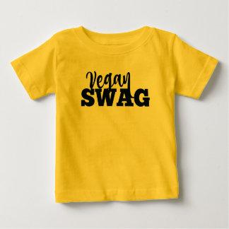 Jersey VÉGÉTALIEN de bébé de BUTIN T-shirt Pour Bébé