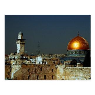 Jérusalem Carte Postale