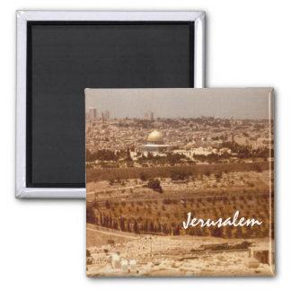 Jérusalem de magnet d'or