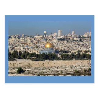 Jérusalem Israël Carte Postale