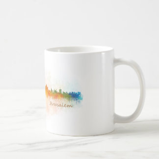 Jérusalem Israël Ville Skyline Mug
