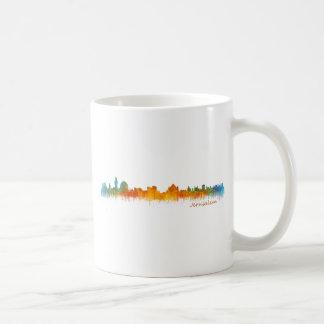 Jérusalem Israël Ville Skyline v2 Mug