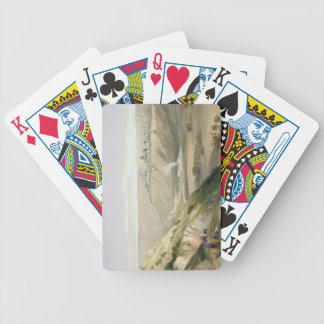 Jérusalem, le 5 avril 1839, plaquent 18 du volume  jeux de cartes