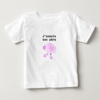 j'essuie ton père t-shirt pour bébé