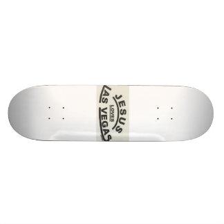 Jésus aime Las Vegas Plateaux De Skateboards Customisés