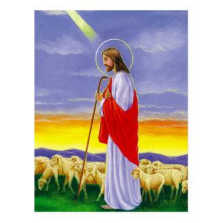 Jésus, carte de Pâques religieuse
