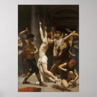 Jésus-Christ de Flagellation De Notre Seigneur Poster