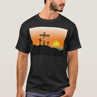 Jésus-Christ noir T-shirt