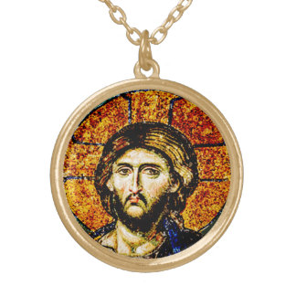 Jésus-Christ, Pantocreator Pendentif Rond