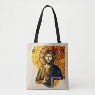 Jésus-Christ, Pantocreator Tote Bag