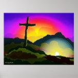 Jésus conquiert la mort affiche