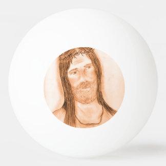 Jésus dans la lumière balle de ping pong