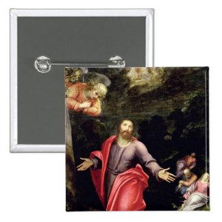 Jésus dans le jardin des olives, c.1590-95 badge