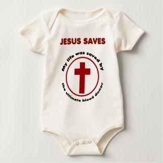 Jésus économise, T-shirt chrétien de cadeau de
