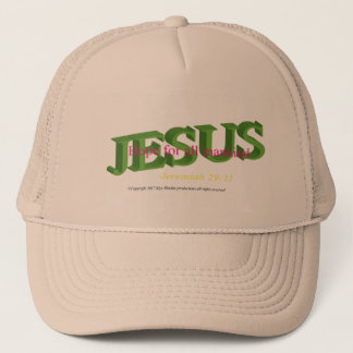Jésus est casquette de base-ball/camionneur