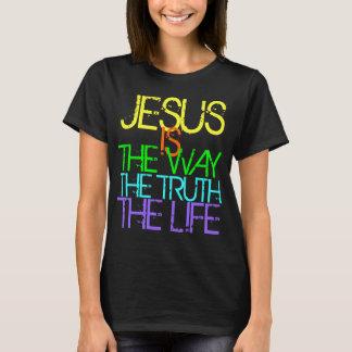Jésus est la manière, la vérité, le T-shirt de