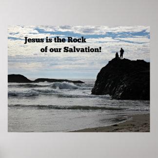 Jésus est la roche de notre salut