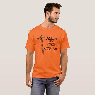 Jésus est la voix de la pièce en t de vérité t-shirt