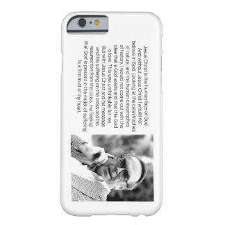 Jésus est le visage humain de Dieu - Jürgen Coque iPhone 6 Barely There