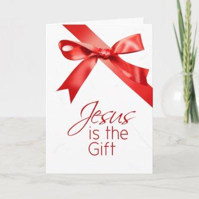 Jésus est le cadeau