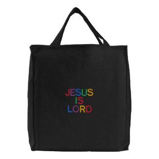 Jésus est sac embroydered par seigneur