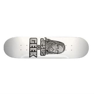 Jésus est un geek skateoard personnalisé