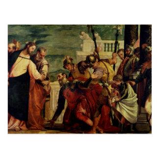 Jésus et le centurion carte postale