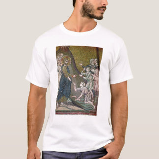 Jésus guérissant estropiée et les aveugles t-shirt